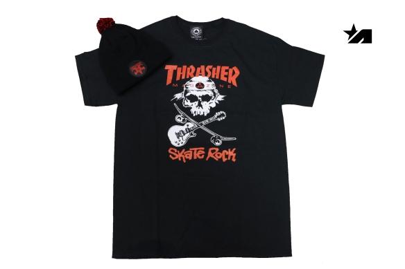 camiseta y gorro thrasher