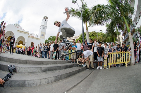 MEJOR TRUCO GAP: DAVID FERNANDEZ (NOLLIE BACKSIDE FLIP)