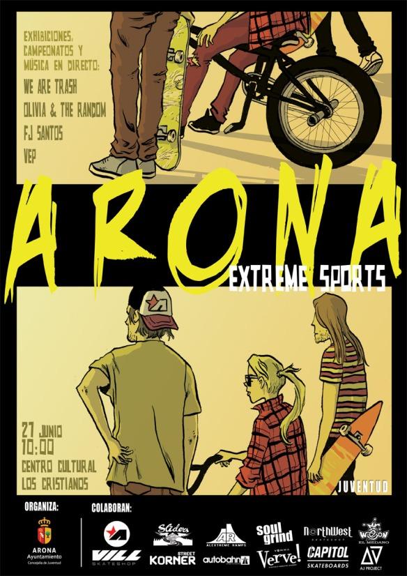Arona extreme sports