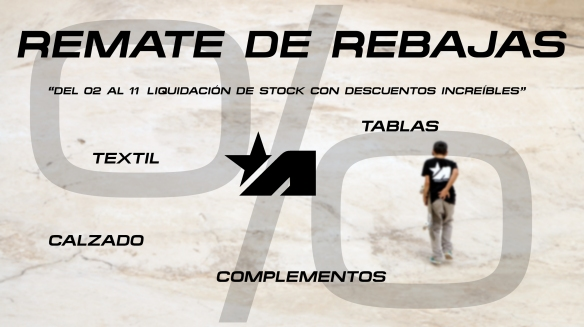 CARTEL DE PROMO REMATE FINAL