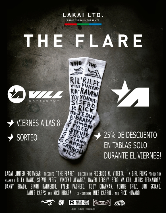 The Flare - poster_foam core 28 x 36 VILL instagram.jpg