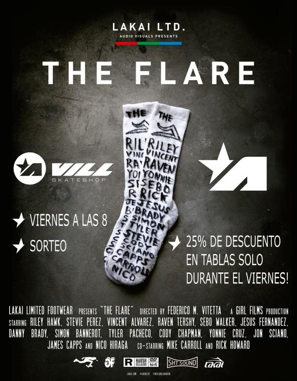 The Flare - poster_foam core 28 x 36 VILL instagram.jpg